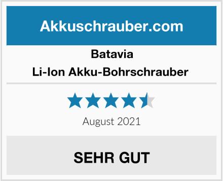 Batavia Li-Ion Akku-Bohrschrauber  Test