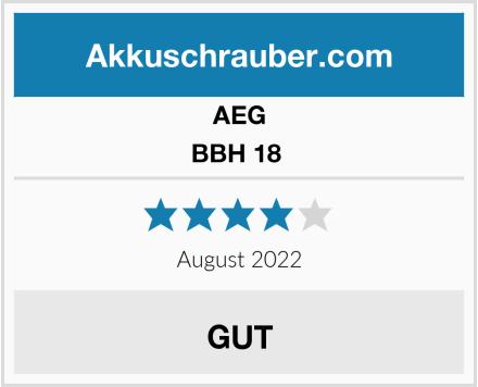 AEG BBH 18  Test