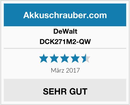 DeWalt DCK271M2-QW Test