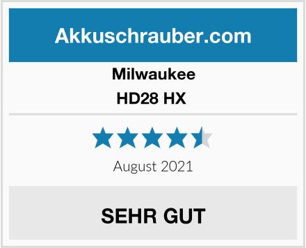 Milwaukee HD28 HX  Test