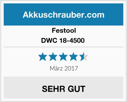 Festool DWC 18-4500  Test