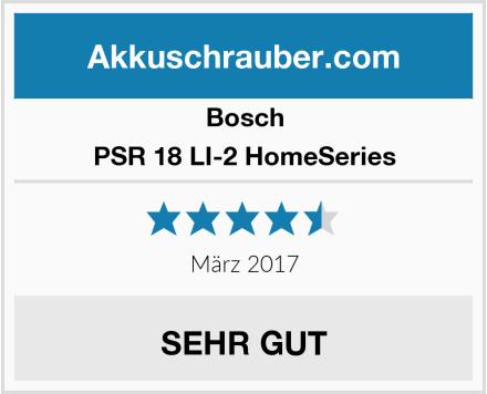 Bosch PSR 18 LI-2 HomeSeries Test