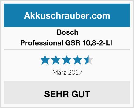 Bosch Professional GSR 10,8-2-LI  Test