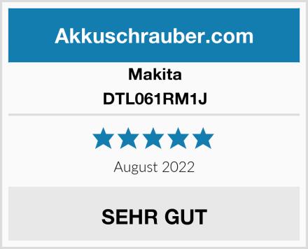 Makita DTL061RM1J Test