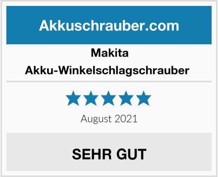 Makita Akku-Winkelschlagschrauber  Test