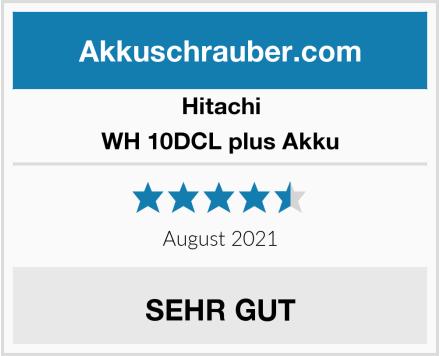 Hitachi WH 10DCL plus Akku Test