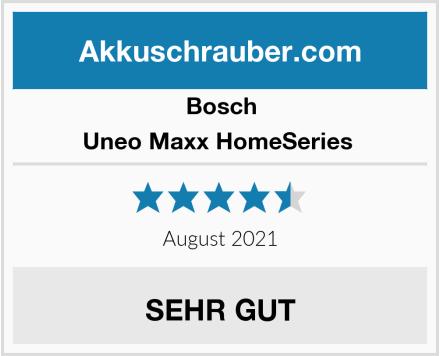 Bosch Uneo Maxx HomeSeries  Test