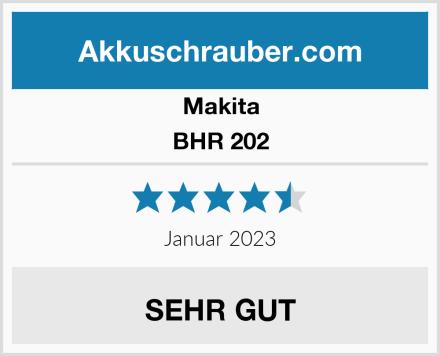 Makita BHR 202  Test