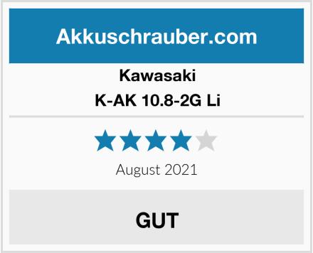 Kawasaki K-AK 10.8-2G Li Test