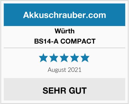 Würth BS14-A COMPACT Test