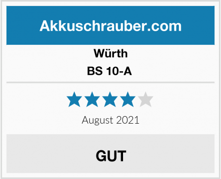 Würth BS 10-A  Test