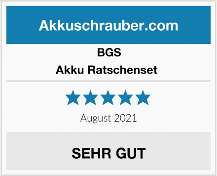 BGS Akku Ratschenset  Test