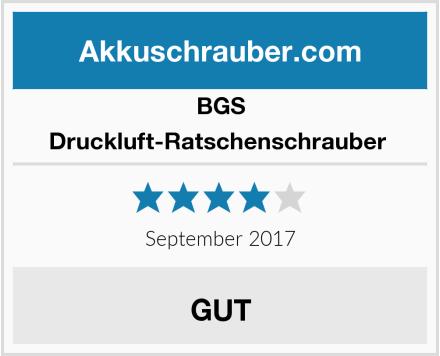 BGS Druckluft-Ratschenschrauber  Test