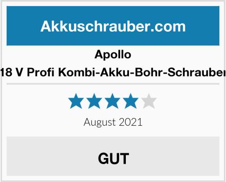Apollo 18 V Profi Kombi-Akku-Bohr-Schrauber Test