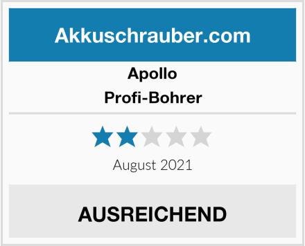 Apollo Profi-Bohrer Test