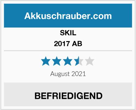 SKIL 2017 AB Test
