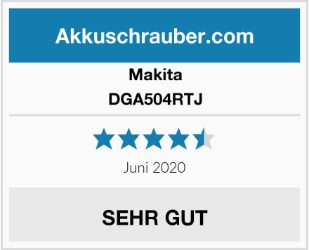 Makita DGA504RTJ Test