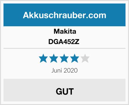 Makita DGA452Z  Test