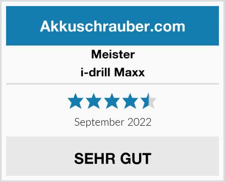Meister i-drill Maxx Test