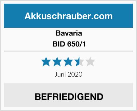 Bavaria BID 650/1 Test