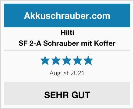 Hilti SF 2-A Schrauber mit Koffer Test