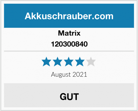 Matrix 120300840 Test