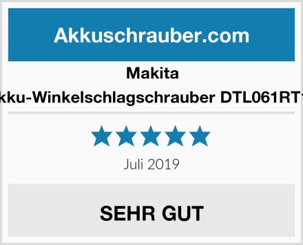Makita Akku-Winkelschlagschrauber DTL061RT1J Test