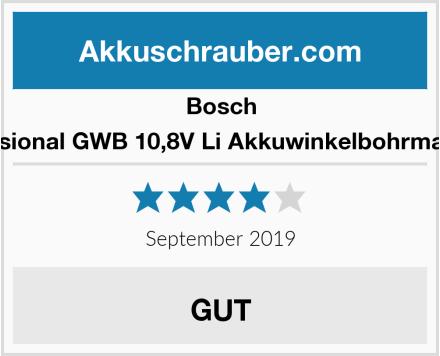 Bosch Professional GWB 10,8V Li Akkuwinkelbohrmaschine Test