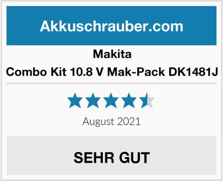 Makita Combo Kit 10.8 V Mak-Pack DK1481J Test
