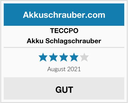 TECCPO Akku Schlagschrauber Test