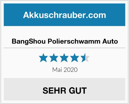 BangShou Polierschwamm Auto Test