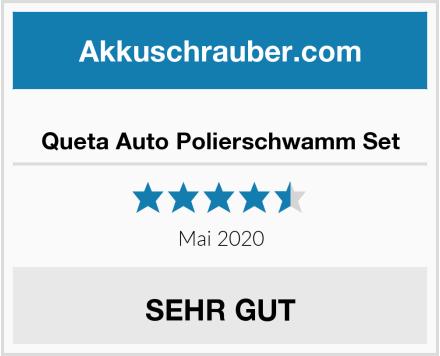 Queta Auto Polierschwamm Set Test