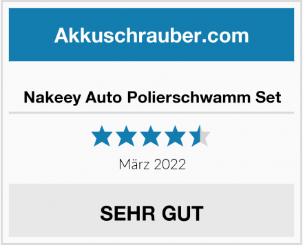 Nakeey Auto Polierschwamm Set Test
