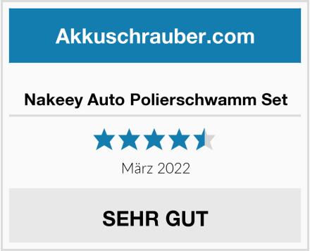 No Name Nakeey Auto Polierschwamm Set Test