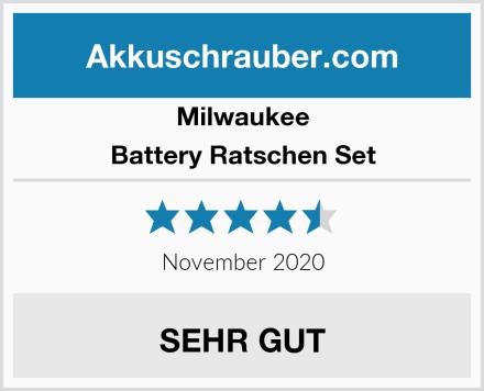 Milwaukee Battery Ratschen Set Test