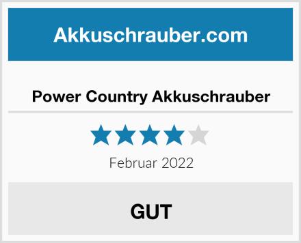 Power Country Akkuschrauber Test