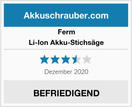 Ferm Li-Ion Akku-Stichsäge Test
