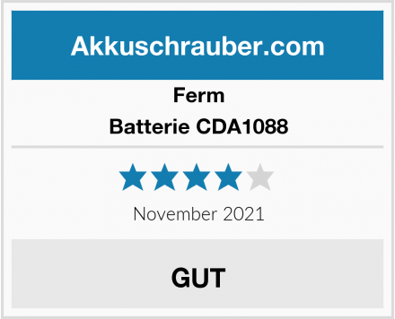Ferm Batterie CDA1088 Test
