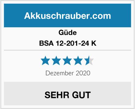 Güde BSA 12-201-24 K Test