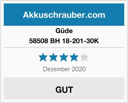 Güde 58508 BH 18-201-30K Test