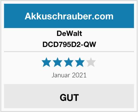 DeWalt DCD795D2-QW Test