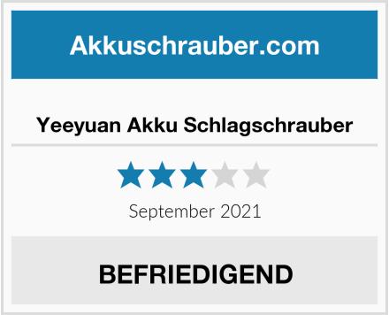 Yeeyuan Akku Schlagschrauber Test