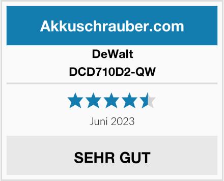 DeWalt DCD710D2-QW Test