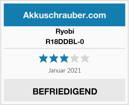 Ryobi R18DDBL-0 Test