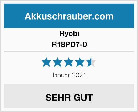 Ryobi R18PD7-0 Test