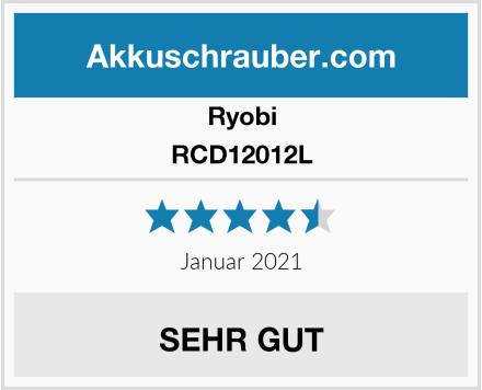 Ryobi RCD12012L Test