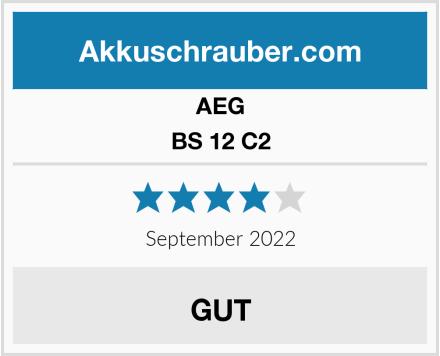 AEG BS 12 C2 Test