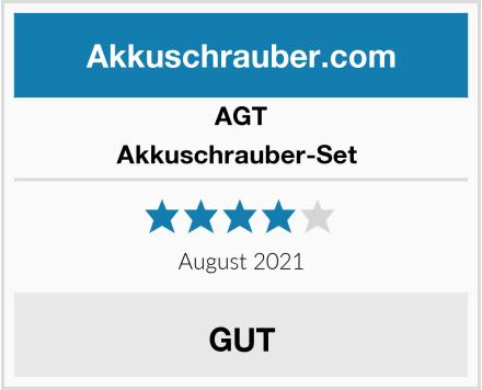 AGT Akkuschrauber-Set  Test